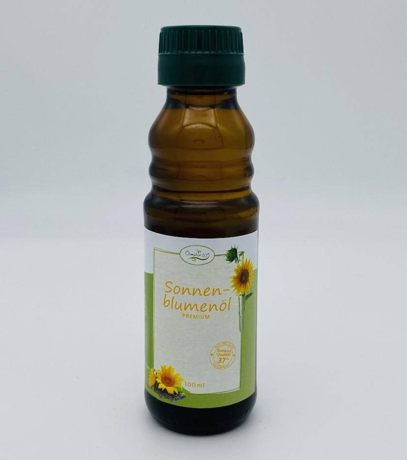 """Bio Sonnenblumenöl """"high oleic"""" kaltgepresst  (Rohkost) - 100ml"""