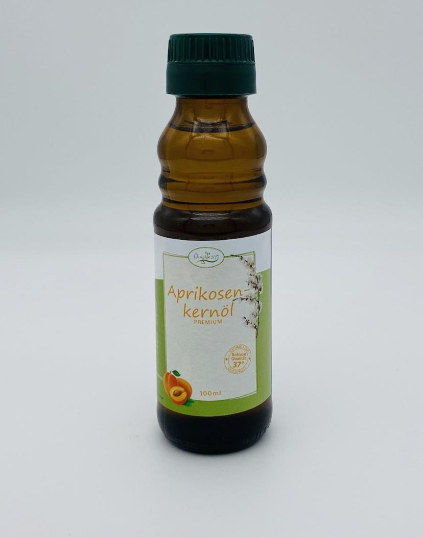 Bio Aprikosenkernöl kaltgepresst (Rohkost)