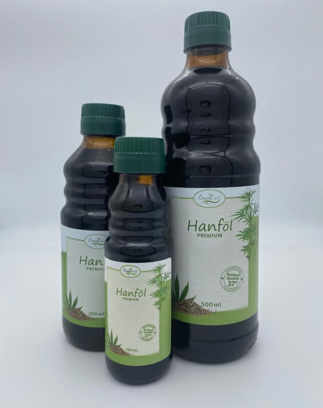 Bio Hanföl kaltgepresst (Rohkost)