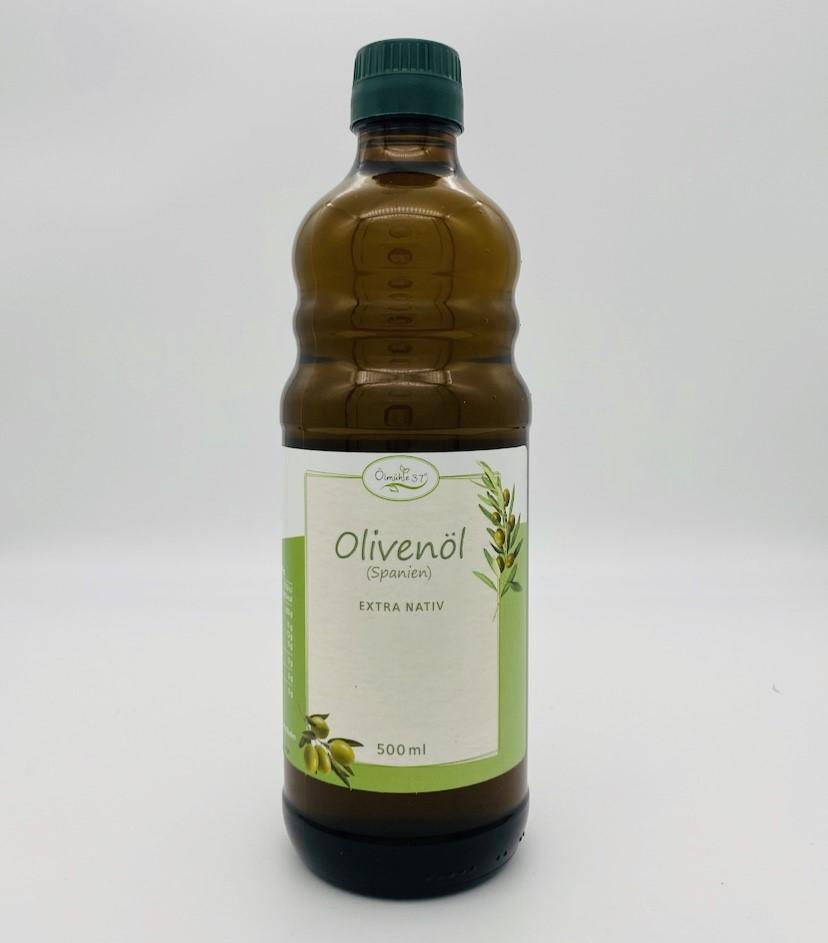 Olivenöl - Spanien - kaltgepresst (Rohkost) | 500ml