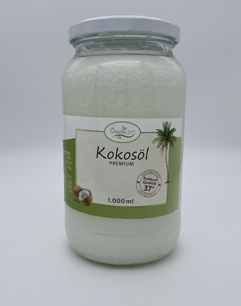 Kokosöl Bio kaltgepresst - 1.000ml