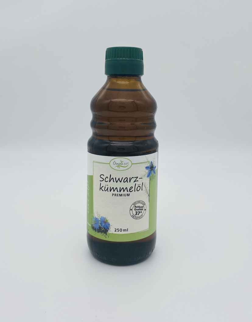 Bio Schwarzkümmelöl kaltgepresst (Rohkost)
