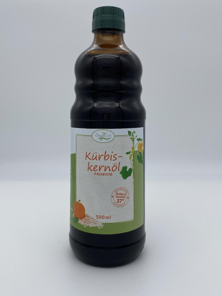 kürbiskernöl bio online kaufen große Flasche