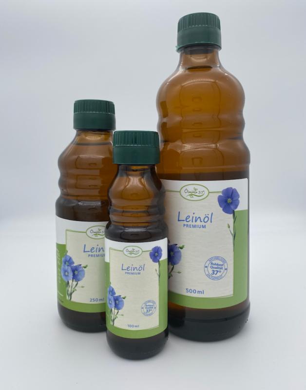 Bio Leinöl kaltgepresst (Rohkost)