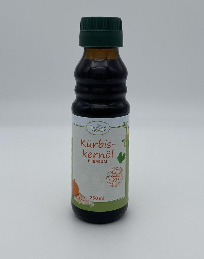 Bio Kürbiskernöl kaltgepresst (Rohkost)