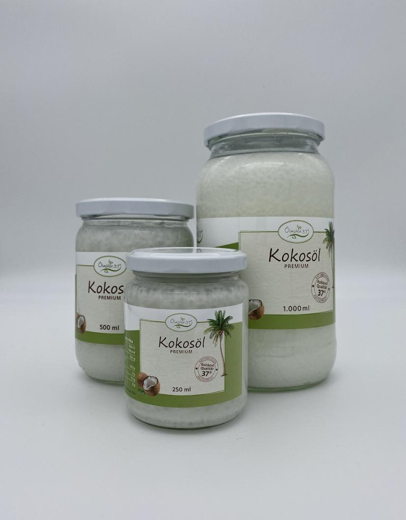 Bio Kokosöl kaltgepresst (Rohkost)